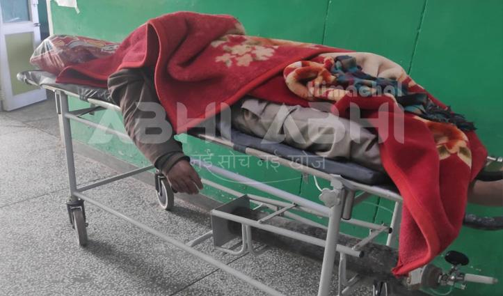 Breaking: #कोरोना संक्रमित का शव दोपहर तक ढूंढता रहा कंधे, कुछ ऐसी तस्वीर मिली है Shimla से