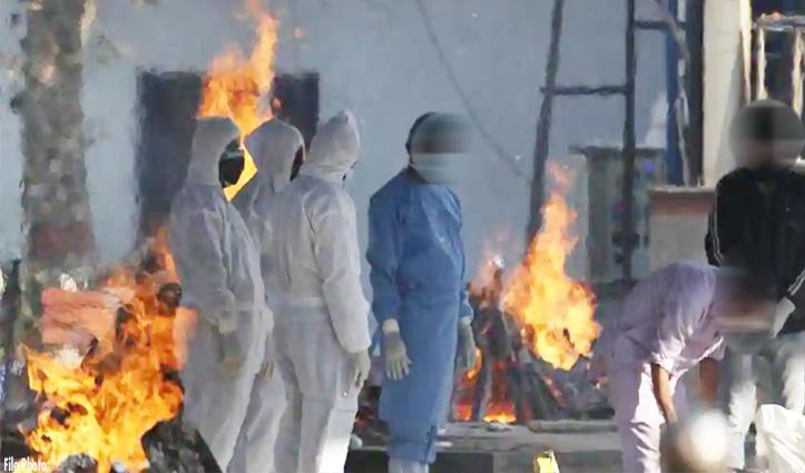 IGMC में 24 घंटों में 10 #Corona संक्रमितों की मौत, दाह संस्कार के लिए करना पड़ा इंतजार