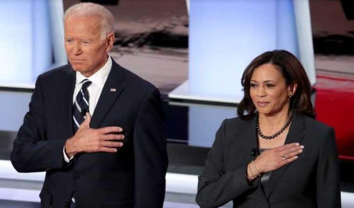 #Biden और कमला हैरिस 'पर्सन ऑफ द ईयर', #Time_Magazine के कवर पर छाए