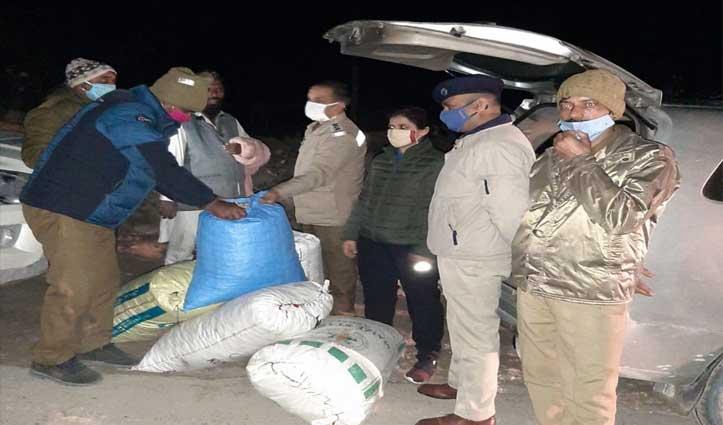 #Mandi : पुलिस ने आधी रात को Filmy Style में 63 किलो अफीम डोडे के साथ पकड़ा तस्कर