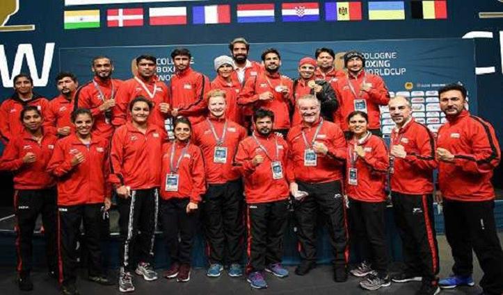 कोलोन मुक्केबाजी विश्वकप प्रतियोगिता में India ने झटके नौ पदक