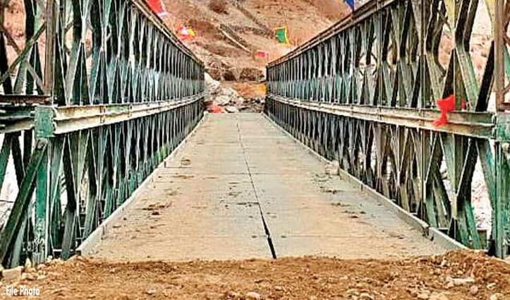 शिमला-सिरमौर को जोड़ने वाला #Bridge काम पूरा होने से पहले ही धराशायी