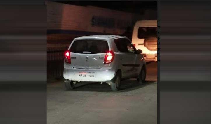 NCB Chandigarh की टीम ने नाहन में 11 किलो 700 ग्राम Charas के साथ पकड़े दो तस्कर