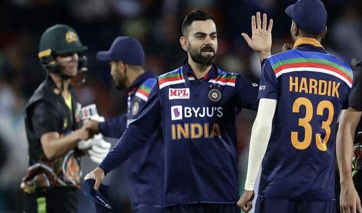 #AUS_vs_IND:भारत ने छह विकेट से आस्ट्रेलिया को हराया, सीरीज पर भी किया कब्जा