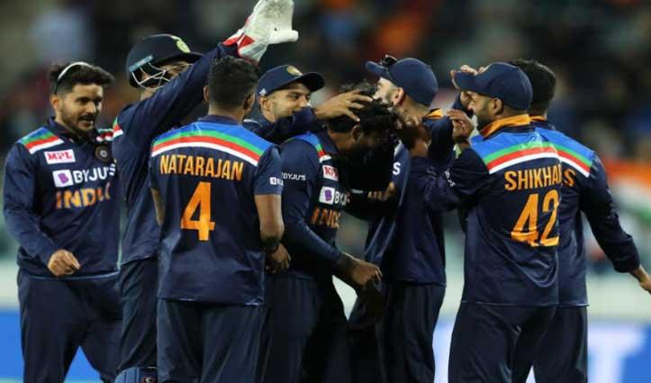 #India_VS_Australia : तीसरे वनडे में भारत ने बचाई लाज, ऑस्ट्रेलिया को 13 रनों से दी मात