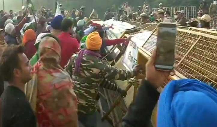 #Farmer's_Protest : खाप पंचायत ने भी किया #Delhi कूच, बोले – सरकार नहीं मानी तो नहीं भेजेंगे दूध-फल-सब्जी