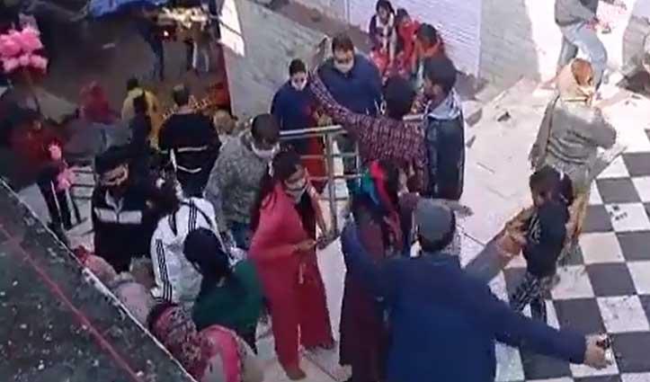 Shri Naina Devi में उमड़े श्रद्धालु पर दुकानदारों के हाथ लगी मायूसी- सरकार से उठाई यह मांग