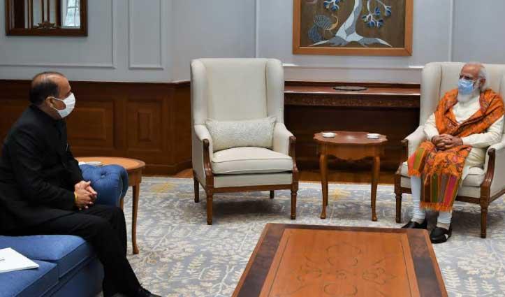 CM invites PM Modi to Join Golden Jubilee function of Statehood virtually