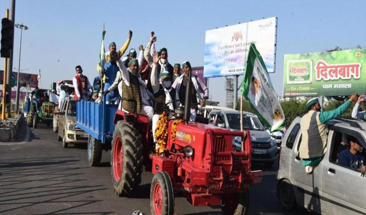 30 दिसंबर को Sindhu Border से टीकरी व शाहजहांपुर तक ट्रैक्टर मार्च करेंगे #किसान