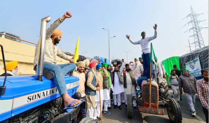 #Farmers Protest Live : किसानों ने दिल्ली-नोएडा बॉर्डर किया ब्लॉक