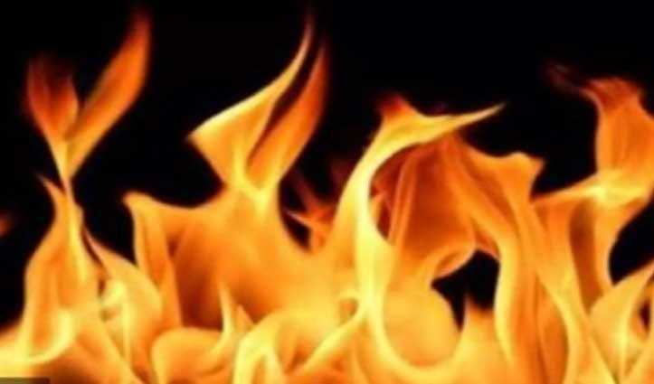 #Una: हरोली में पशुशाला में लगी आग, जिंदा जली भैंस, दो मवेशी झुलसे