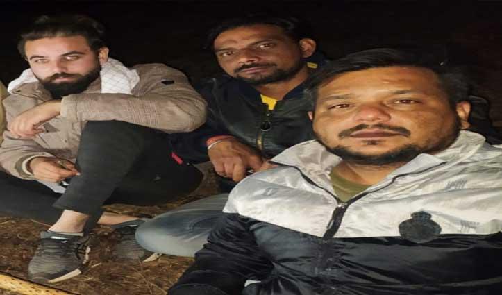 #Haryana से घूमने आए थे तीन युवक, 28 घंटे चूड़धार के जंगल रहे फंसे- Rescue कर घर भेजे
