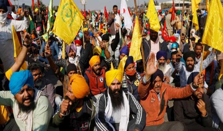 आठ दिसंबर को #Bharat_Bandh करेंगे किसान, कल फूंकेंगे #PM_Modi का पुतला
