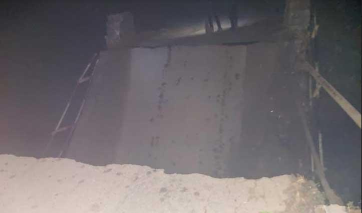 देहरा- Haripur सड़क मार्ग पर दौड़े वाहन, पुली गिरने से हुआ था बंद