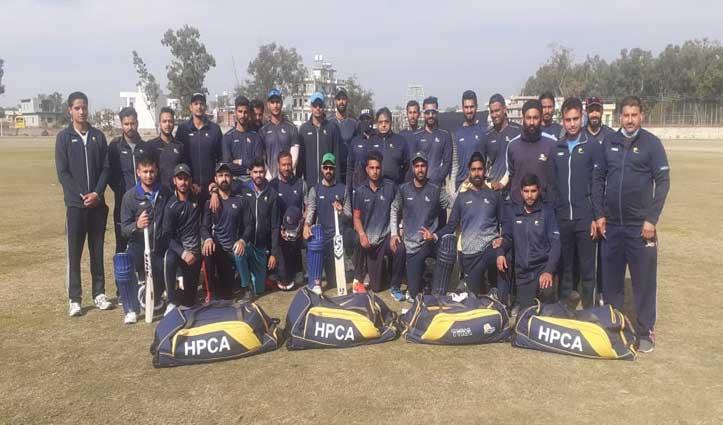 सैयद मुश्ताक अली ट्रॉफी के लिए ये है हिमाचल की टीम