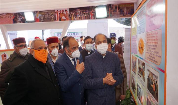 सरकार के तीन साल पर बोले Jai Ram -लोगों का मिला पूरा सहयोग, आगे भी करवाएंगे विकास के काम
