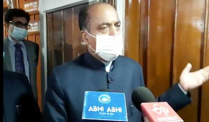 #CM_JaiRam का वीरभद्र को जवाब- पूर्व सरकार ने ही खोले थे बिना सोचे -समझे स्वास्थ्य संस्थान हमने नहीं