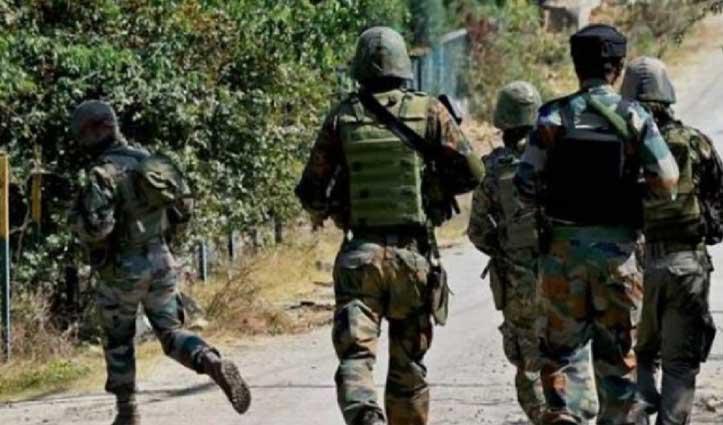 #JammuKashmir में पीडीपी नेता हाजी परवेज के घर #Terrorist_Attack, पीएसओ शहीद