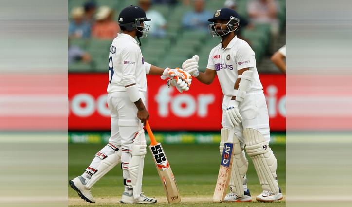 IND_Vs-Aus:कप्तान रहाणे ने जमाया शतक, मजबूत स्थिति में भारत