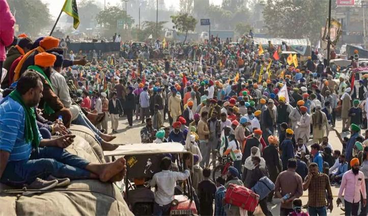 #FarmersProtest: पांचवें राउंड की मीटिंग से पहले किसान आज करेंगे मंथन, 9 प्वाइंट पर ट्रैफिक बंद