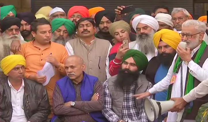 #FarmersProtest : मांगों पर अड़े किसान, सरकार का लिखित प्रस्ताव ठुकराया, President से मिले विपक्षी नेता
