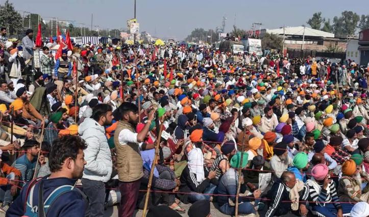 Live #farmer's Protest: दिल्ली-हरियाणा के बॉर्डर आज भी बंद, तीन बजे सरकार ने बातचीत के लिए बुलाया