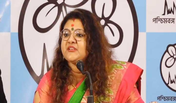 TMC में शामिल हुईं #BJP सांसद की पत्नी सुजाता मंडल, नाराज सौमित्र खान लेंगे Divorce