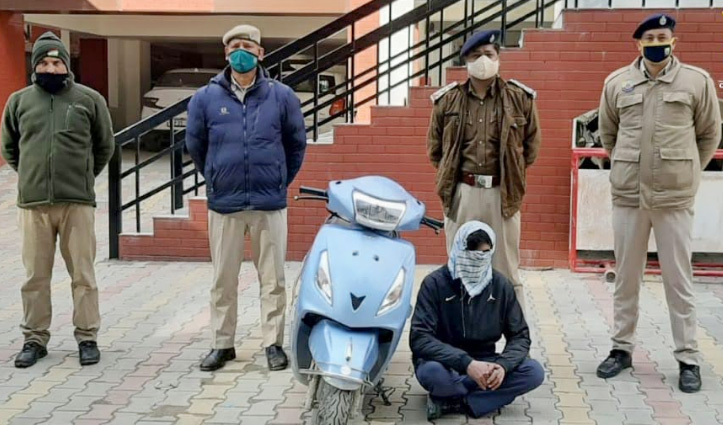 #Kullu: मनाली में चोरी हुई स्कूटी बरामद, युवक गिरफ्तार