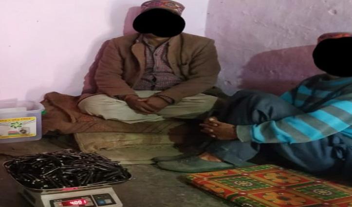 #Kullu : 4 किलो चरस व सवा पांच किलो गांजे के साथ 2 तस्कर #Arrest