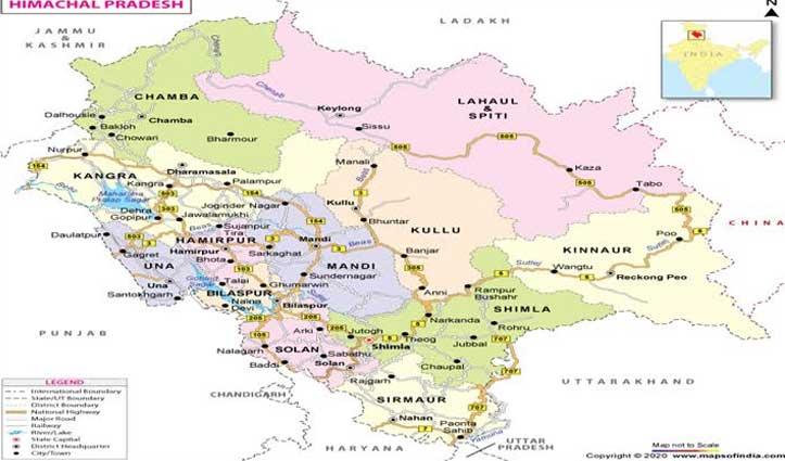 उपलब्धिः देश में पूर्ण टीकाकरण कवरेज में #Himachal ने हासिल किया शीर्ष स्थान