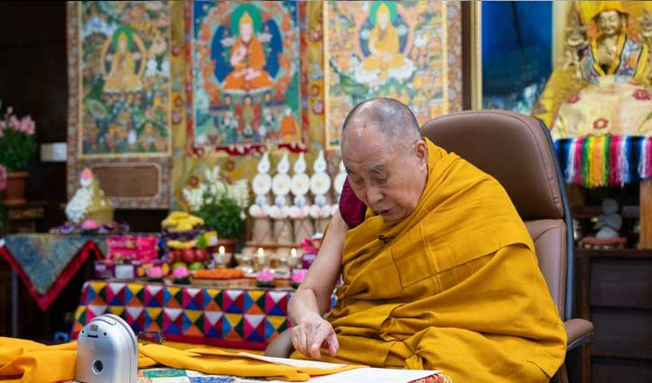 तिब्बती धर्मगुरू #Dalailama ने 113 साल तक जीने की बात दोहराई