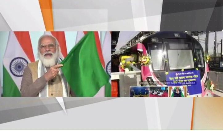 नए दौर की शुरुआत : दिल्ली को Driverless Metro की सौगात, #PMModi ने दिखाई हरी झंडी