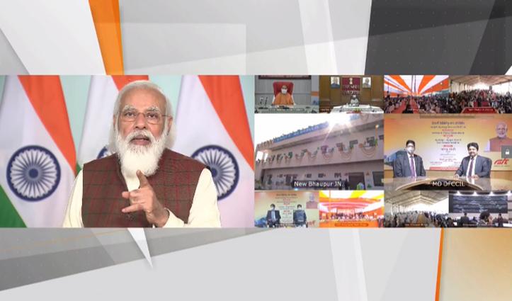 100 किमी की रफ्तार से दौड़ेगी मालगाड़ी-शुभारंभ पर बोले Modi,ना पहुंचाएं सरकार संपत्ति को नुकसान