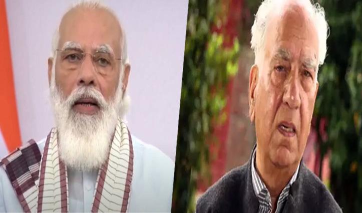 PM Modi ने जाना #Corona की चपेट में आए शांता कुमार का हाल, CM Jairam ने भी किया फोन