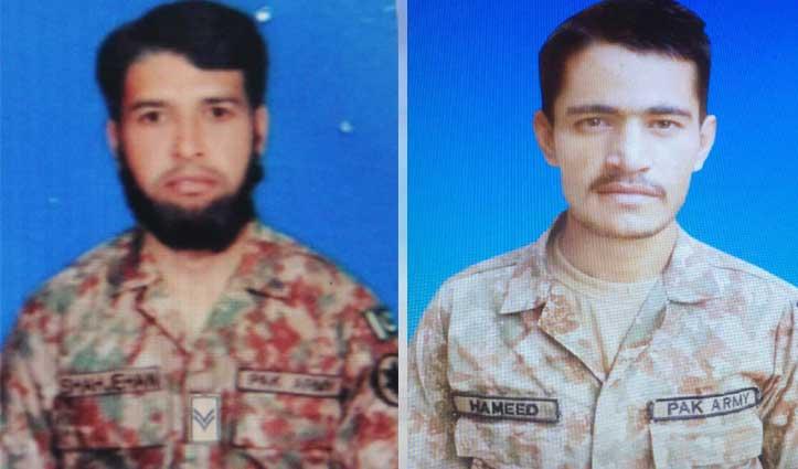 #LoC पर की घुसपैठ की कोशिश कर रही पाक सेना को करारा जवाब, #IndianArmy ने मार गिराए दो सैनिक