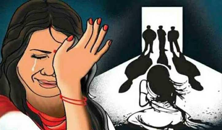 पति को बंधक बनाकर उसी के सामने 17 लोगों ने महिला से किया #Rape, महिला आयोग ने लिखा पत्र