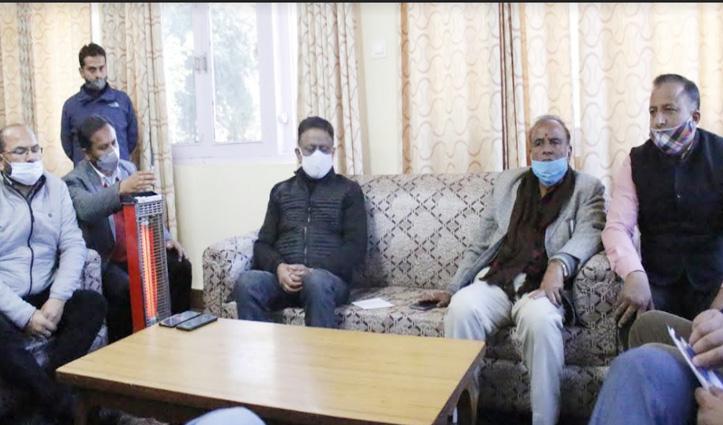 #Himachal कांग्रेस अध्यक्ष Kuldeep Rathore बोले- Jai Ram नहीं रामभरोसे है हिमाचल