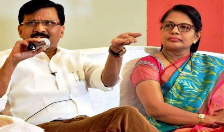 शिवसेना सांसद Sanjay Raut की पत्नी को #ED का नोटिस, 29 December को पूछताछ के लिए बुलाया