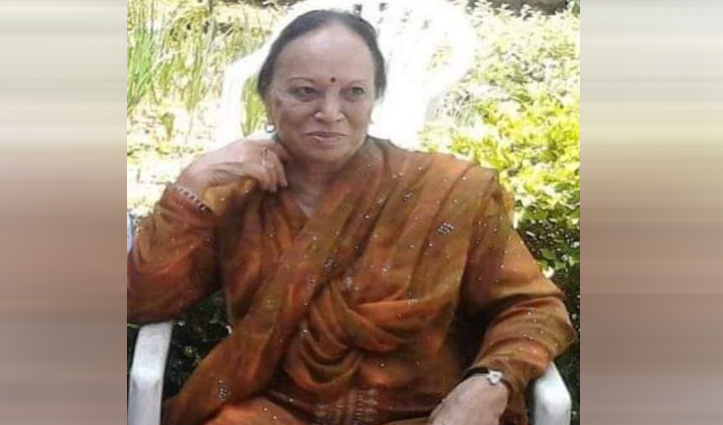 पूर्व सीएम #Shanta_Kumar की Corona संक्रमित पत्नी संतोष शैलजा का निधन, बेटे ने दी मुखाग्नि