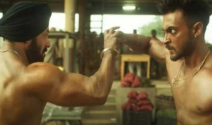 """#Salman की """"अंतिम"""" का फर्स्ट लुक जारी, #Ayush_Sharma के साथ जबरदस्त फाइट सीन"""