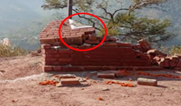 स्वास्थ्य मंत्री के गृह क्षेत्र में पांच दिन पहले लगाई शिलान्यास पट्टिका गायब