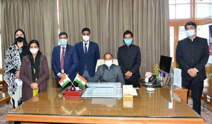 IAS प्रशिक्षु अधिकारियों से मुलाकात