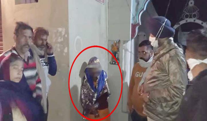 #Una: बच्चा चोरी के संदेह में पकड़ी महिला, मौके पर पहुंची #Police तो हुआ यह खुलासा