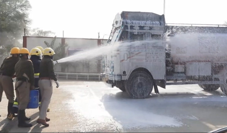 Una: जब इंडियन ऑयल कॉरपोरेशन के टर्मिनल में तेल से भरेटैंकर में लगी आग, तो क्या हुआ- जाने