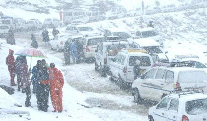 #HP_Weather: हिमाचल के छह जिलों में शून्य से नीचे लुढ़का पारा, पहाड़ों से मैदानी इलाके ज्यादा ठंडे