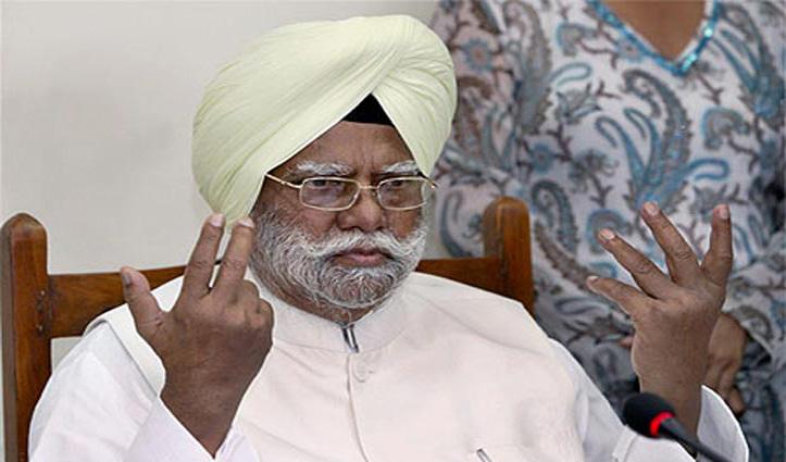 वरिष्ठ कांग्रेस नेता Buta Singh का दिल्ली में निधन, लंबे समय से थे बीमार