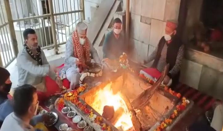 चिंतपूर्णी मंदिर में भक्त डाल सकेंगे हवन में आहुतियां, 10 महीने बाद हटी रोक