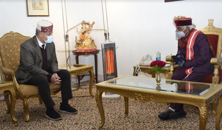 DGP संजय कुंडू ने राज्यपाल बंडारू दत्तात्रेय से की मुलाकात