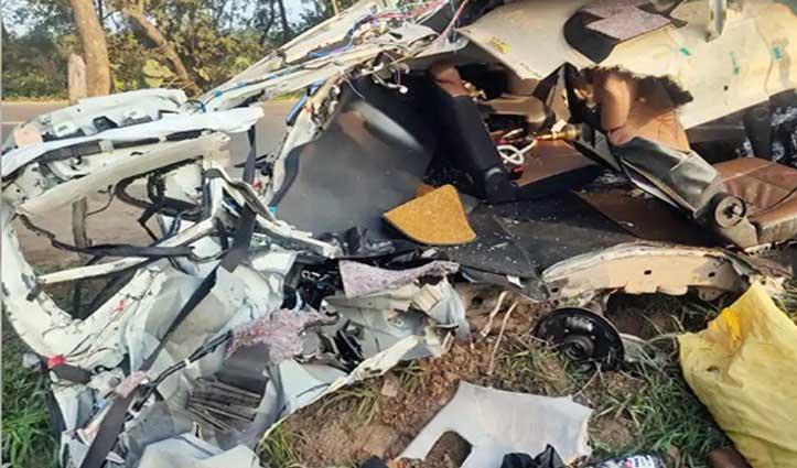नालागढ़ में ट्रक व इनोवा में हो गई सीधी भिड़ंत, Haryana के दो लोगों की गई जान