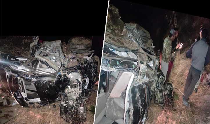 Breaking: जुब्बल में सड़क हादसा, एक ही गांव के तीन लोगों की गई जान